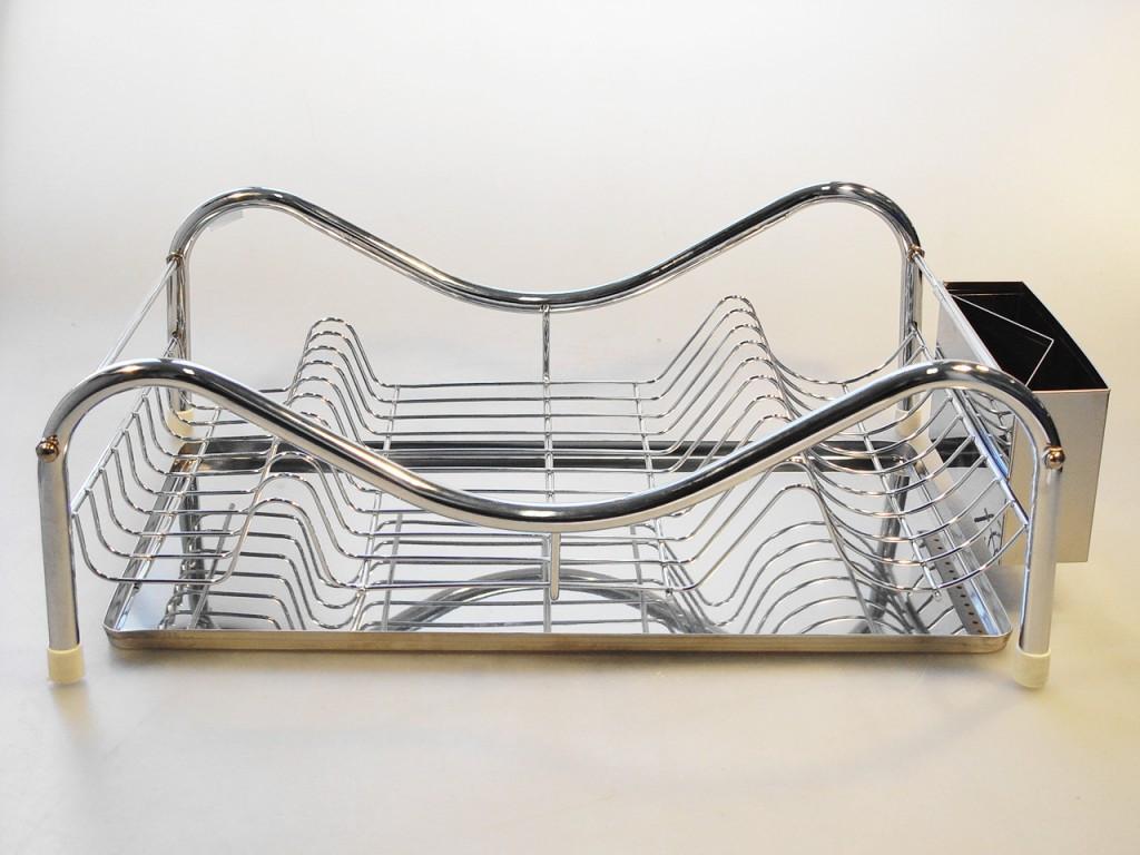 Nerezový odkvapkávač na riad 47 x 32 cm