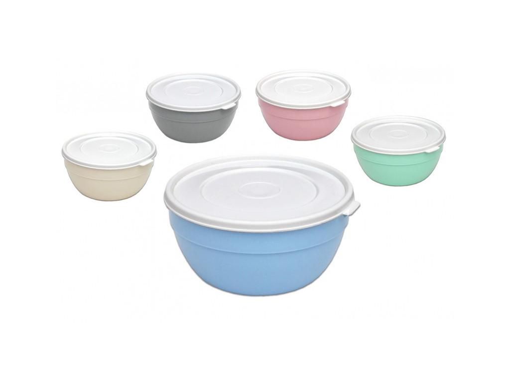 Miska na polievku s viečkom rôzne farby