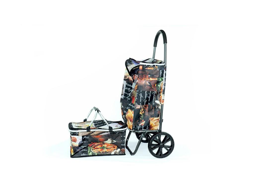 Taška na kolieskach+termokošík ITALY
