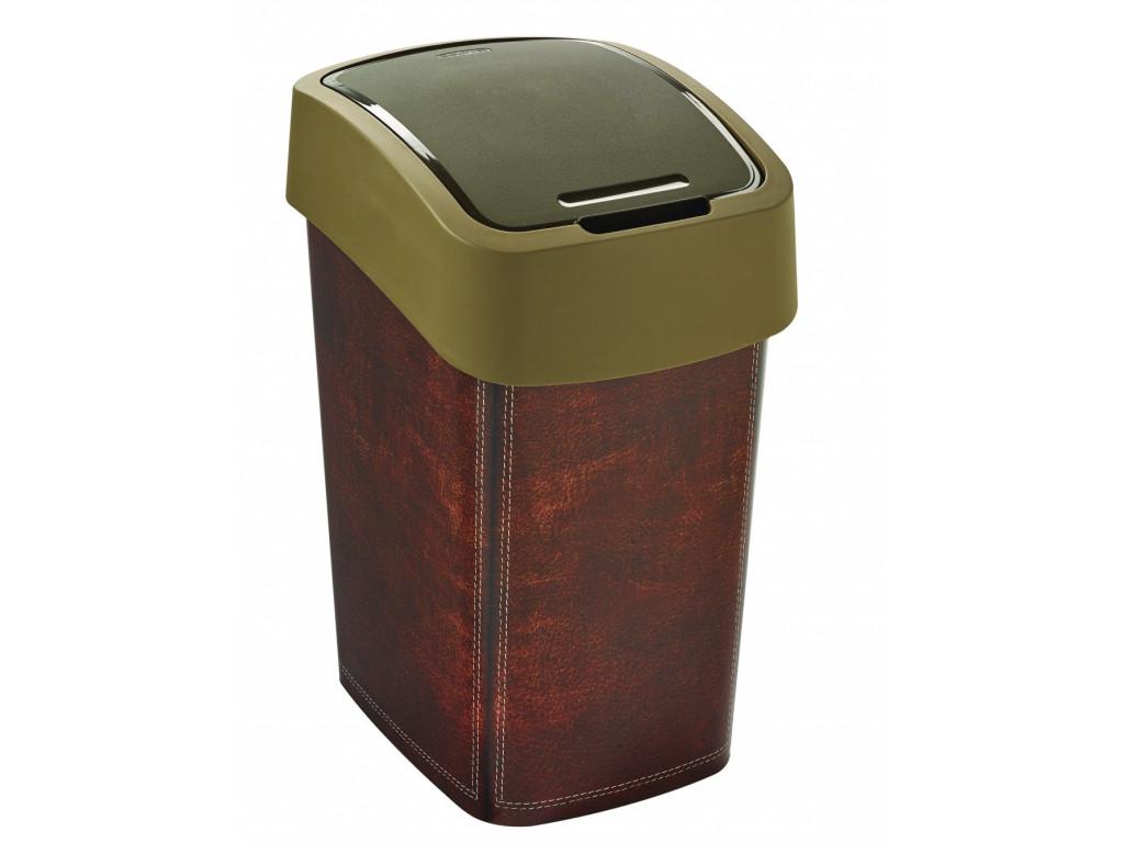 Kôš na odpad 25L hnedý
