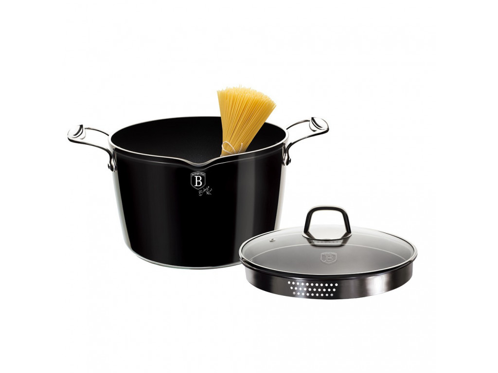 Hrniec na špagety 24cm Black