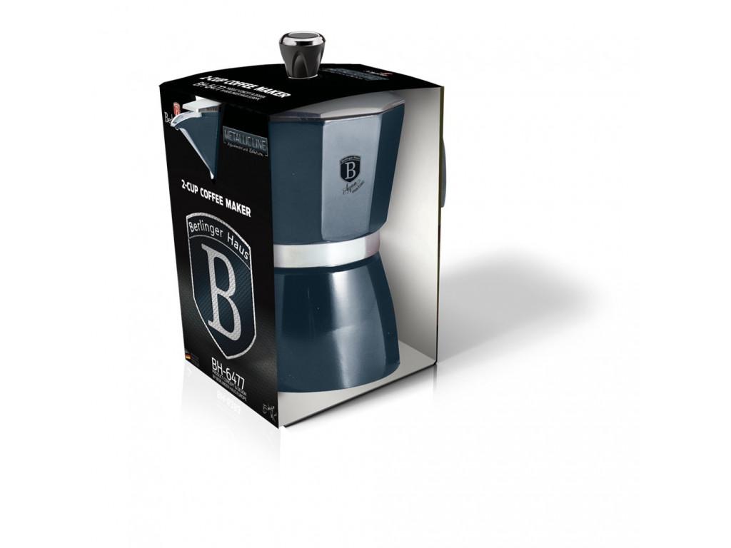 Kávovar pre 2 osoby Aquamarine