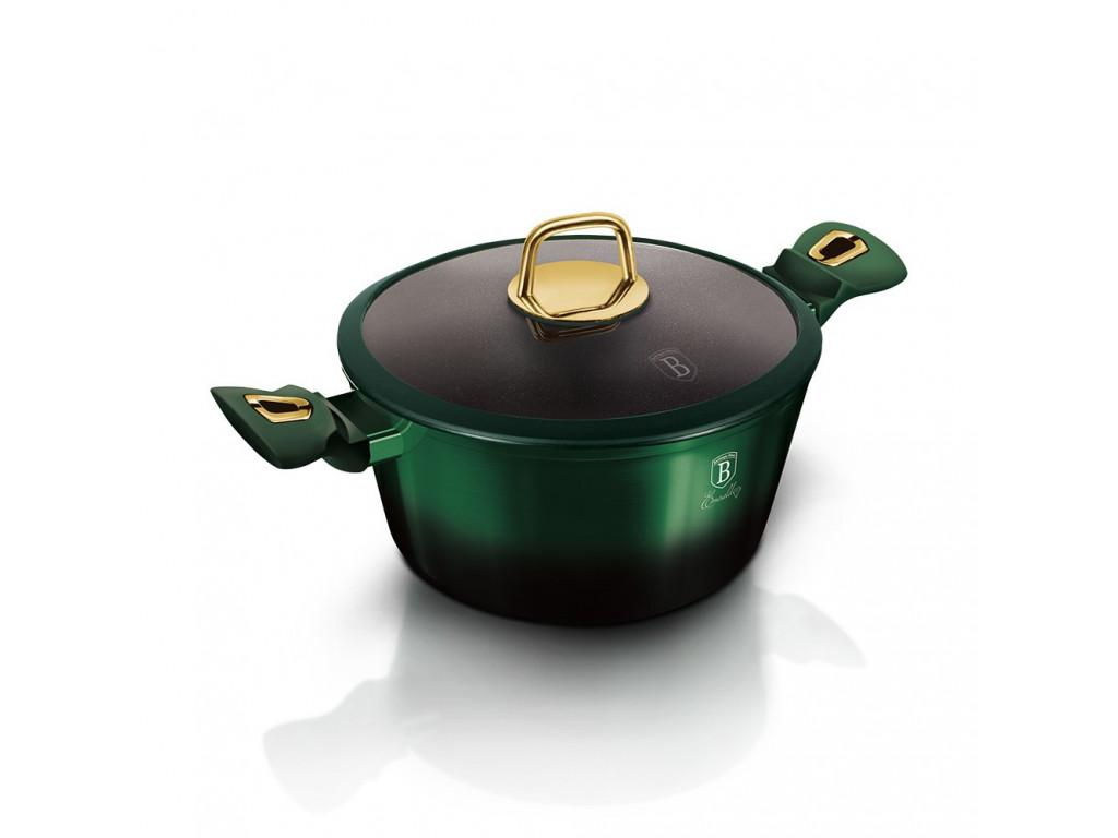 Hrniec+pokrievka 4,1L Emerald