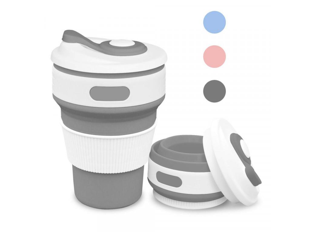 Pohár na kávu silikón skladací