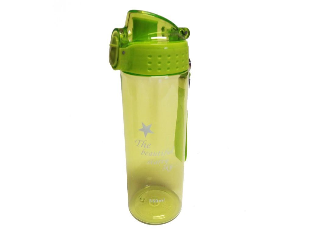 Fľaša na vodu s uzáverom mix