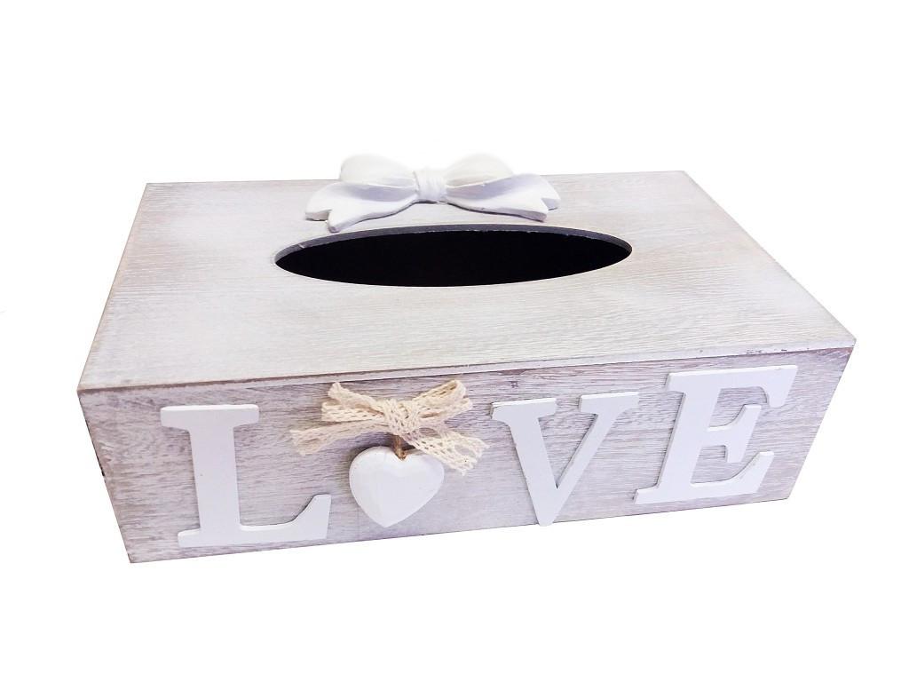 Krabička na papierové obrúsky