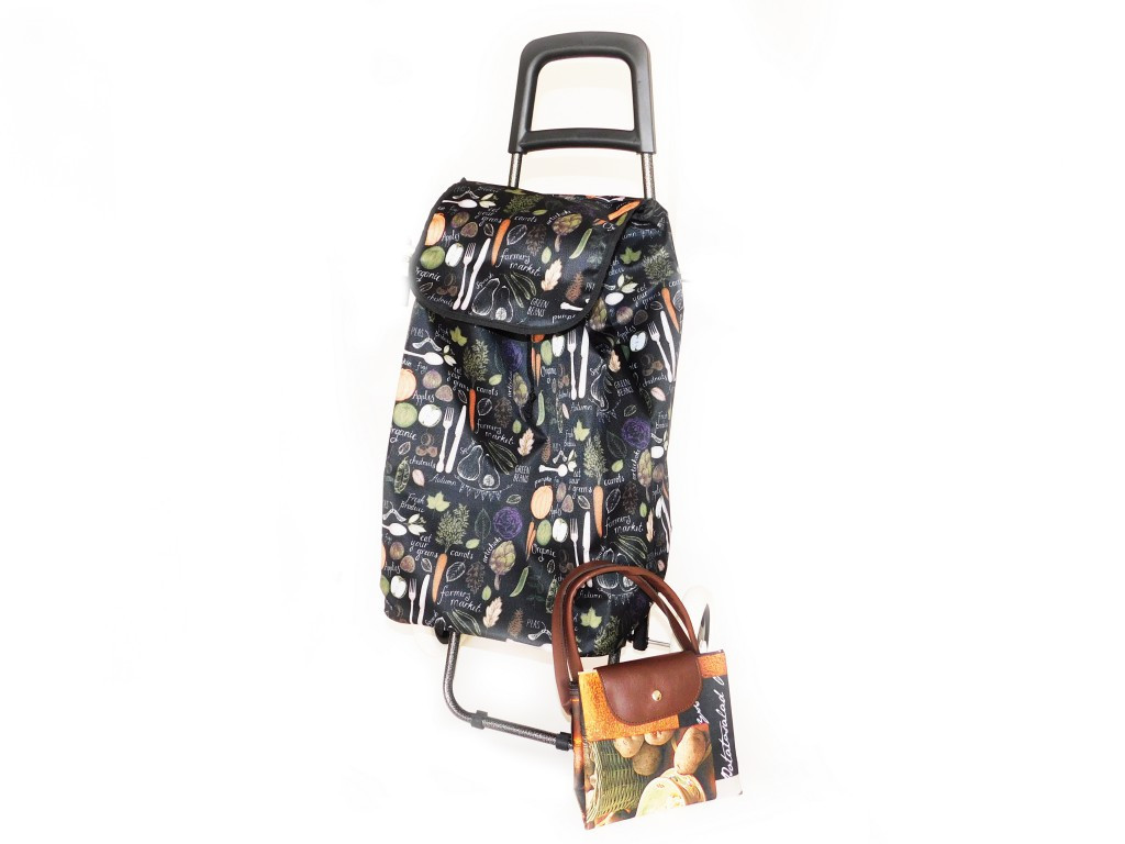 Taška na kolieskach + nákupná taška zdarma