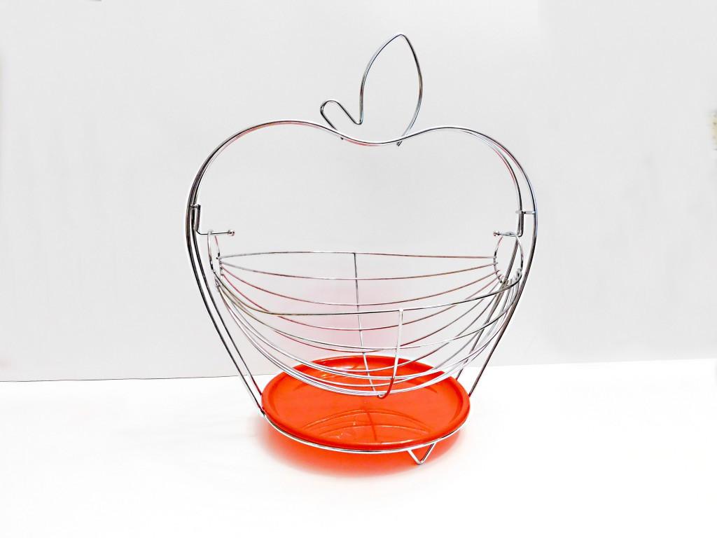 Košík na ovocie JABLKO drôtený